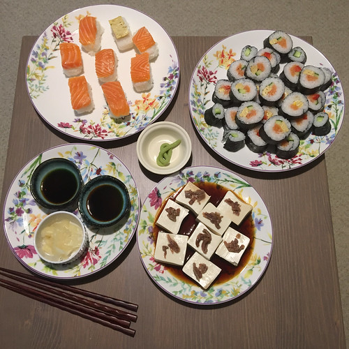 2016-05-02 Sushi at home