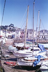 St. Aubin's harbour, Jersey, Channel Islands.