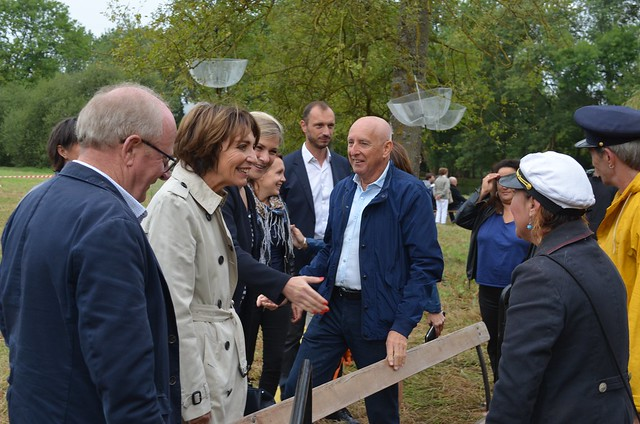 Marisol TOURAINE à Esvres & Beaumont-Village