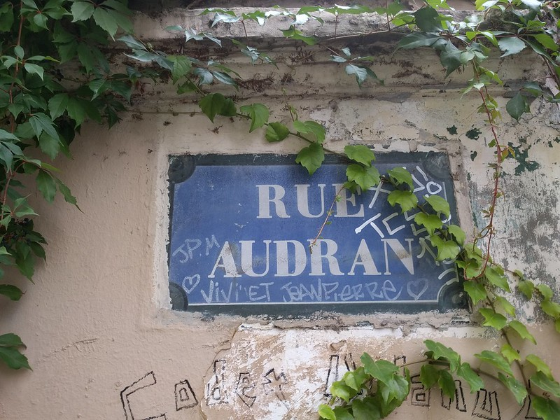 Rue Audran, Paris, France