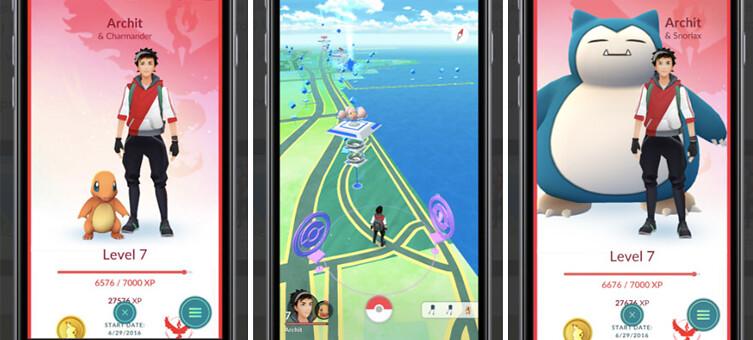 Update Pokémon GO 0.37.0 / 1.7.0