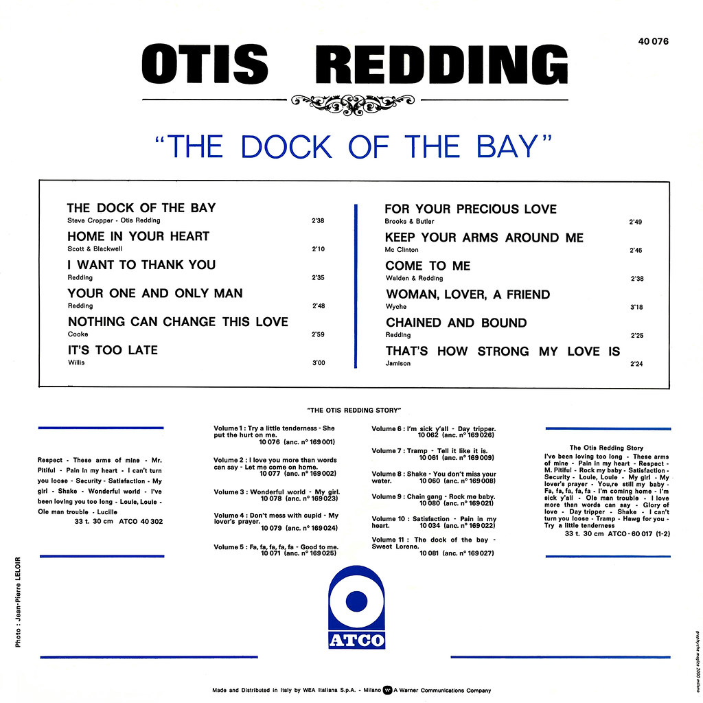 Otis Redding - The Dock Of The Bay
