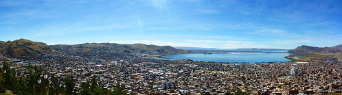 View over puno