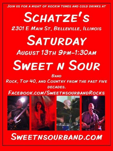 Sweet n Sour 8-13-16
