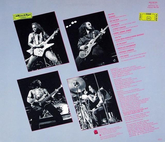 """BLACKFOOT Tomcattin' 12"""" LP VINYL"""