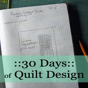 30 Days of Quilt Design