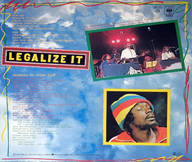 Peter Tosh - Legalize it Netherlands with Bunny Wailer, Rita Marley