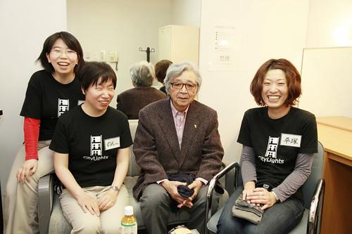 山田監督と笑顔