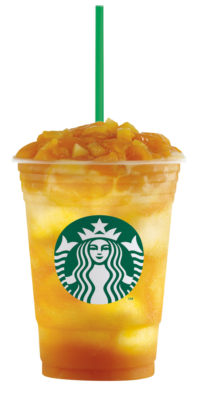 Starbucks Mango Fruit Jelly Yogurt Frappuccino Blended Beverage