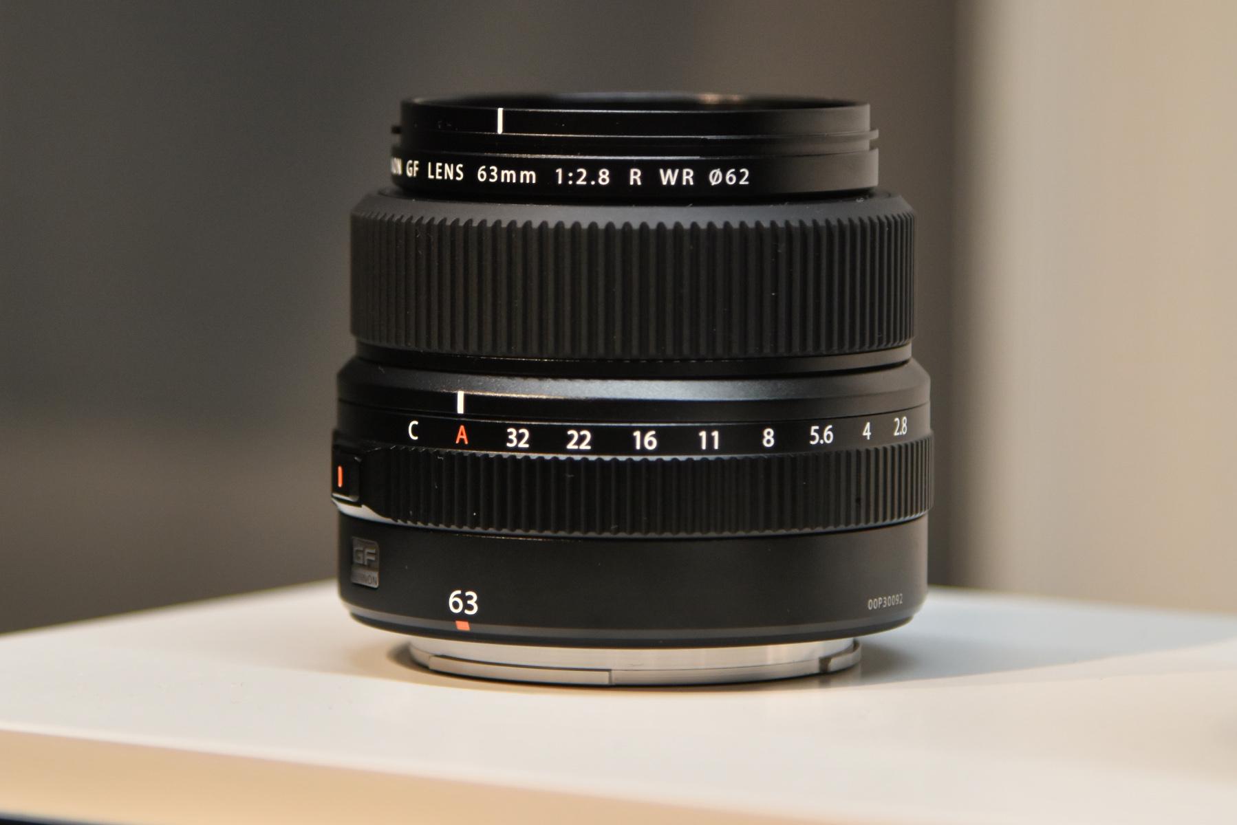 Kết quả hình ảnh cho Fujifilm GF 63mm f2.8 R WR