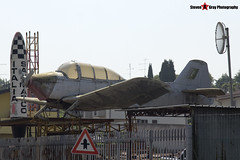 I-AEPS MM54126 - 6077 115 - Private - Aermacchi M-416 - Gambini SRL Scrapyard, Cavalcaselle, Italy - 160624 - Steven Gray - IMG_5006