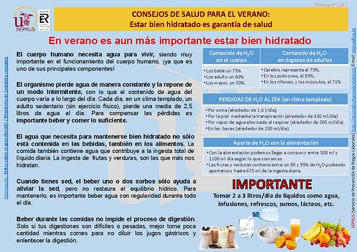 114 CONSEJOS DE SALUD PARA EL VERANO