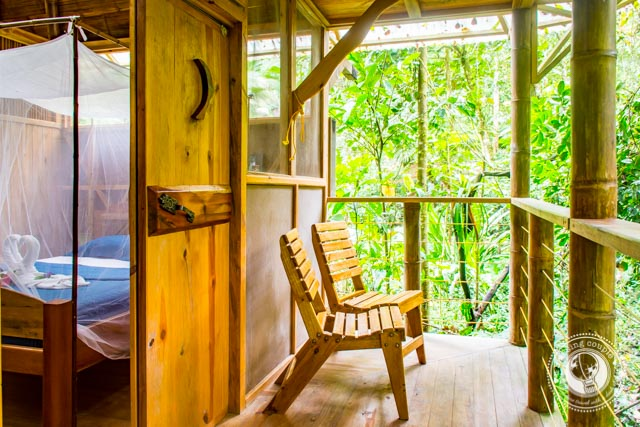 Treehouse Porch at Finca Bellavista