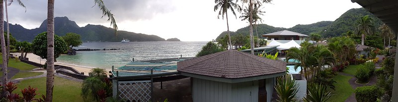 View from our balcony at Sadie's by the Sea