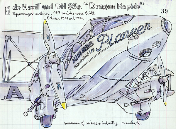 """dragon rapide"""