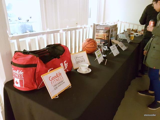 OktoberFEAST 2016 raffle prizes
