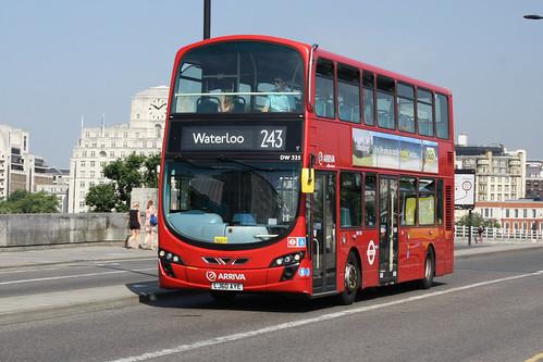 Arriva London North DW325 LJ60AYE