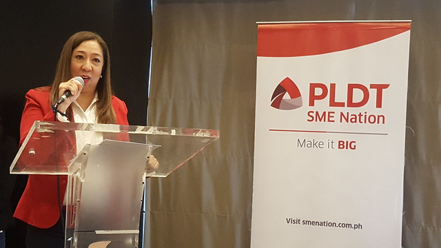 Ms. Corrine Zablan | PLDT SME Nation's Smart Digital Campus Launched in Davao City - DavaoLife.com