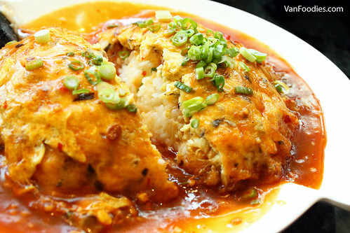 TeaWok Omelet Rice