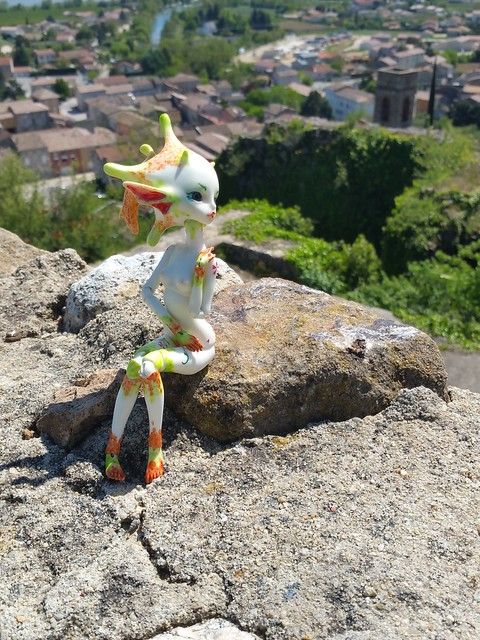Galatéa (Dollzone Wendy) Château et nouvelle amie p1 28853486005_af0afec3de_z