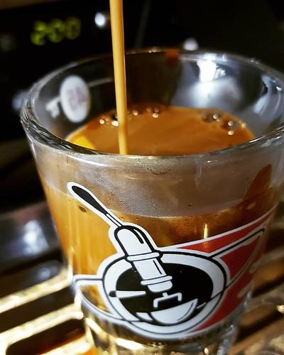 Testing. Testing. Testing. #caffedbolla #espresso #slc #kvdw