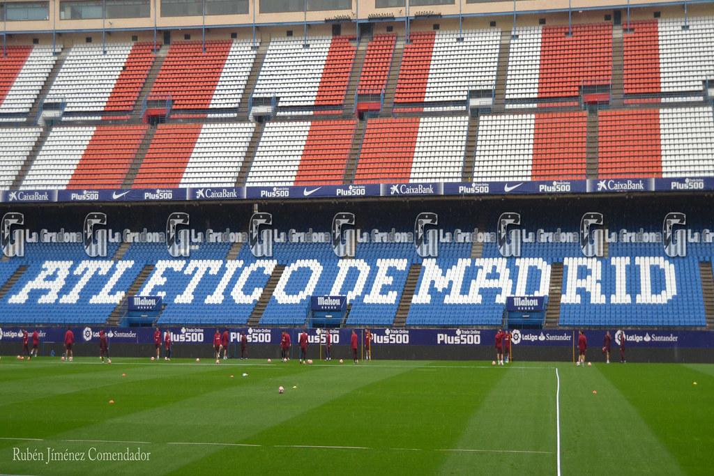 Entrenamiento Atlético de Madrid 22/10/2016