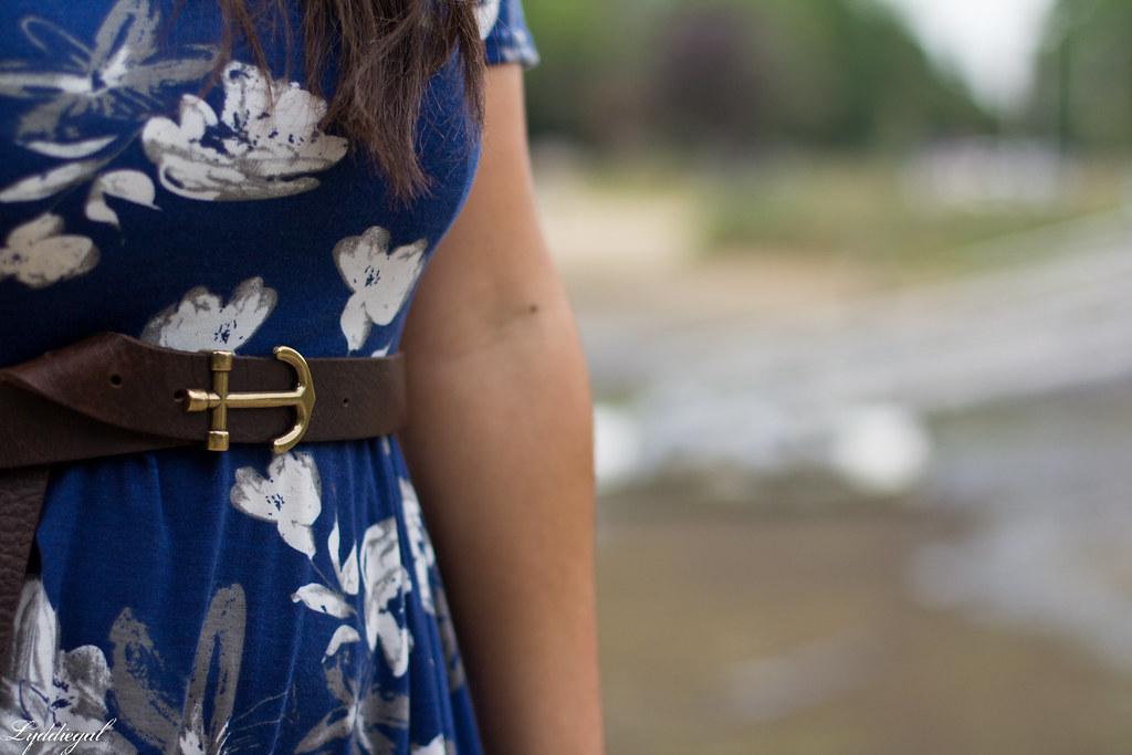 blue floral maxi dress, anchor belt, nude sandals-7.jpg
