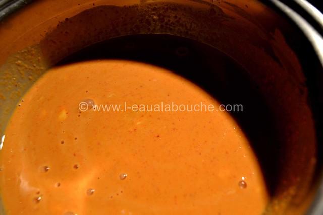 Saumon Croustillant aux Herbes et au Curry  © Ana Luthi Tous droits réservés 021
