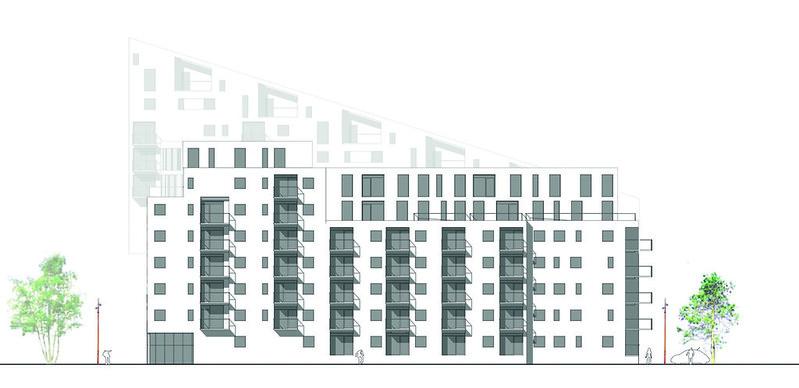 Проект жилого комплекса в Мальмё от Jull Frost Architects