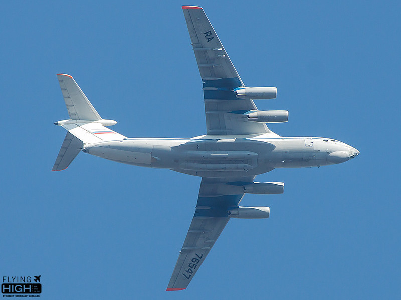 Russia Air Force IL76