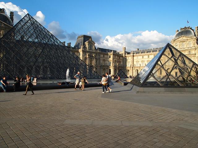 P5281775 パリ ルーブル美術館 フランス paris louvre