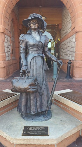 Wyoming Women Statue