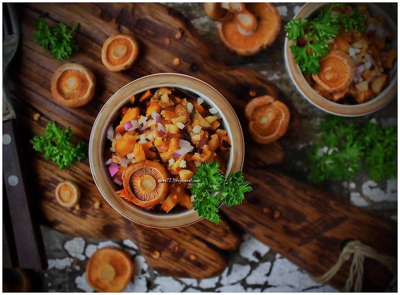 ...mushroom salad