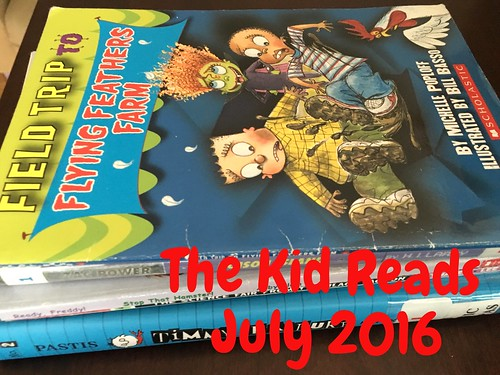 The Kid Reads July 2016