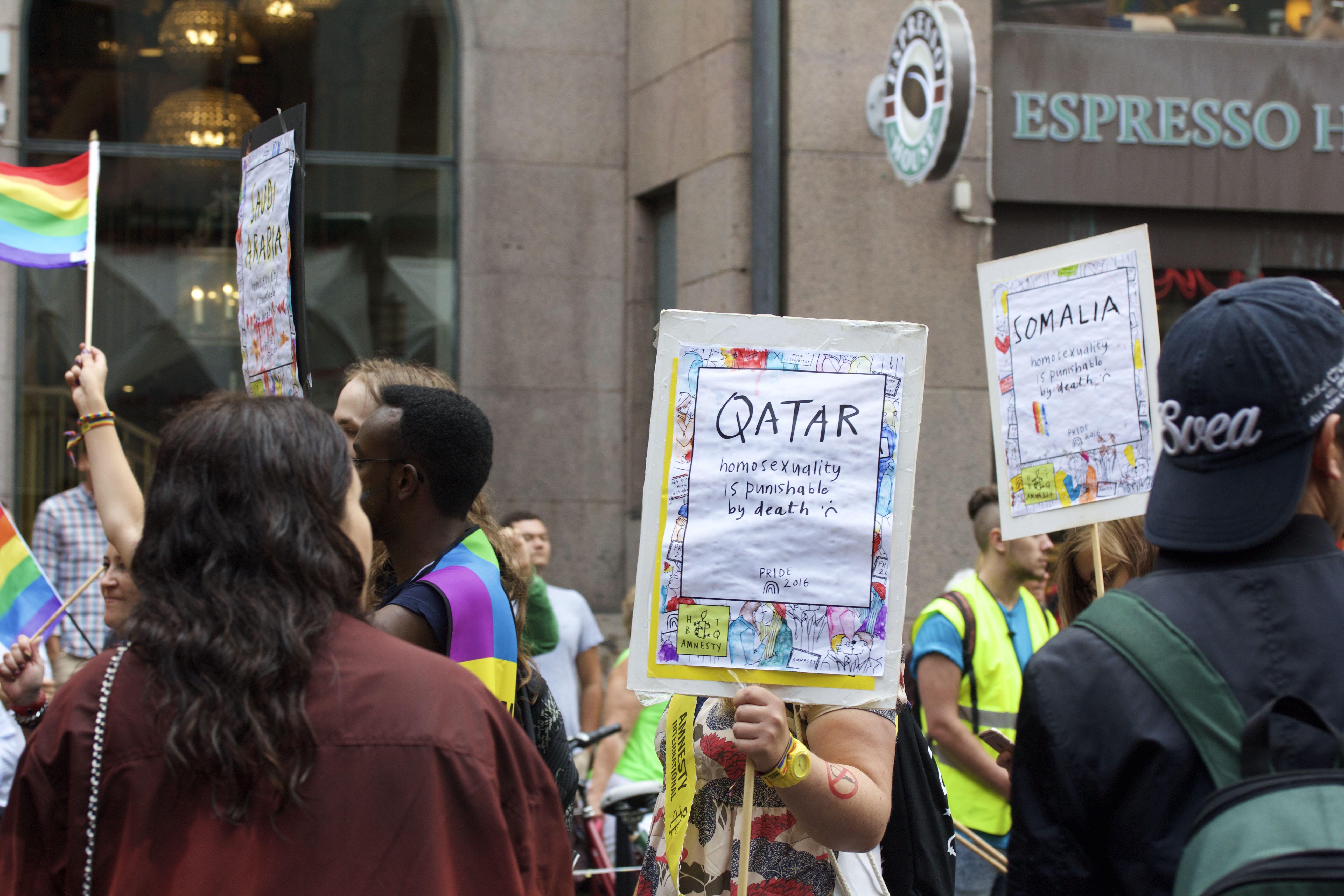 Stockholm Pride 2016 Amnesty