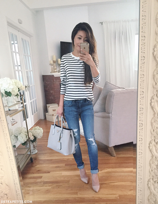 striped tee vigoss thompson tomboy jeans casual outfit