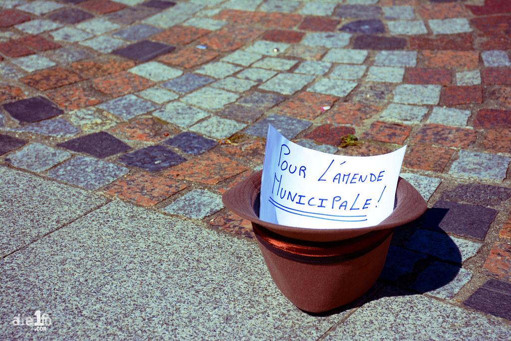 [12 Août 2016] - Un jour, une photo... pour l'amende municipale