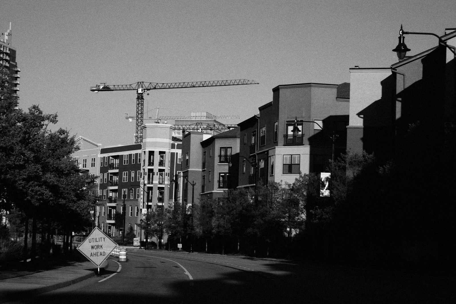 Atlantic Station Construction, Atlanta, 2007