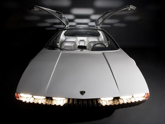 Lamborghini Marzal. Концепт 1967 года