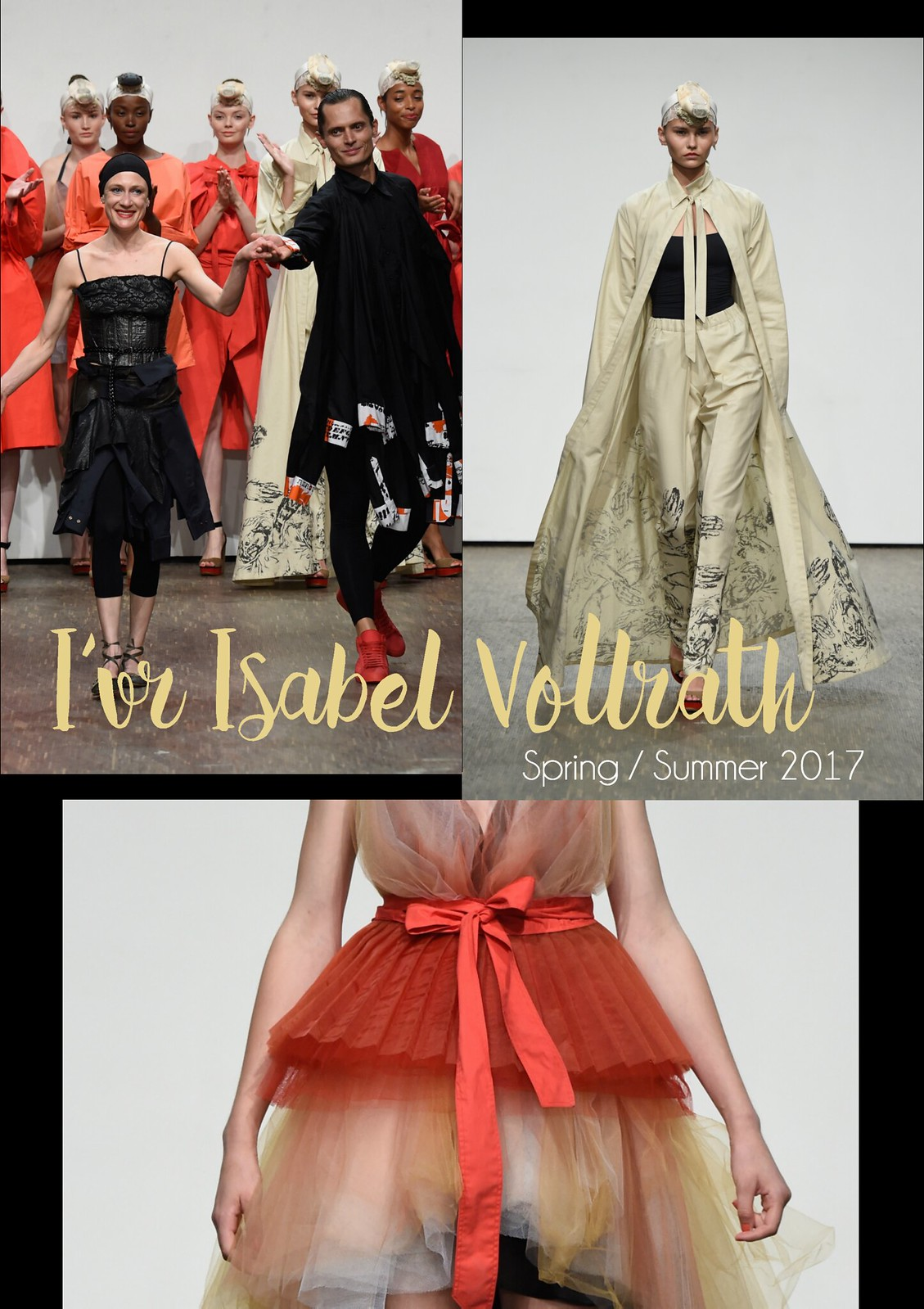 Berlin Fashion Week Bericht I'VR Isabell Vollrath SS17 I Style By Charlotte