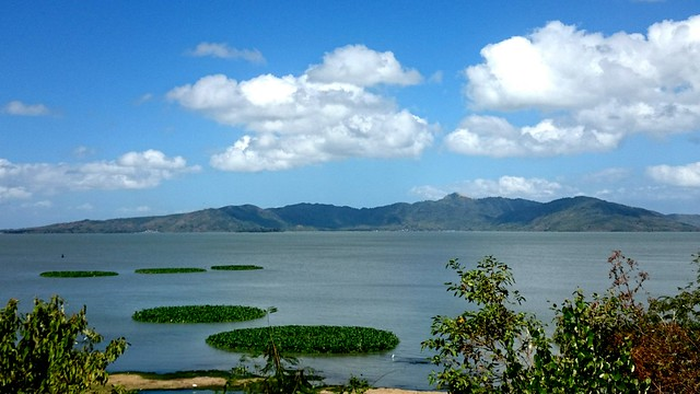Talim Island and Laguna Lake as seen from Jala-Jala, Rizal