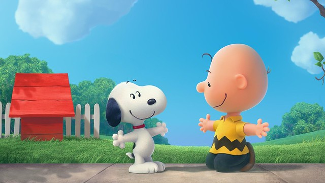 Snoopy And Charlie Brown The Peanuts Cartoon HD Wallpaper - Stylish HD Wallpapers