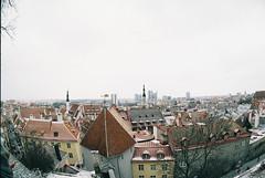 Вид со смотровой площадки Кохтуотса. Kohtuotsa Vaateplats. Tallinn. Estonia