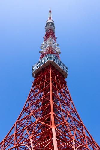 東京の赤い鉄塔