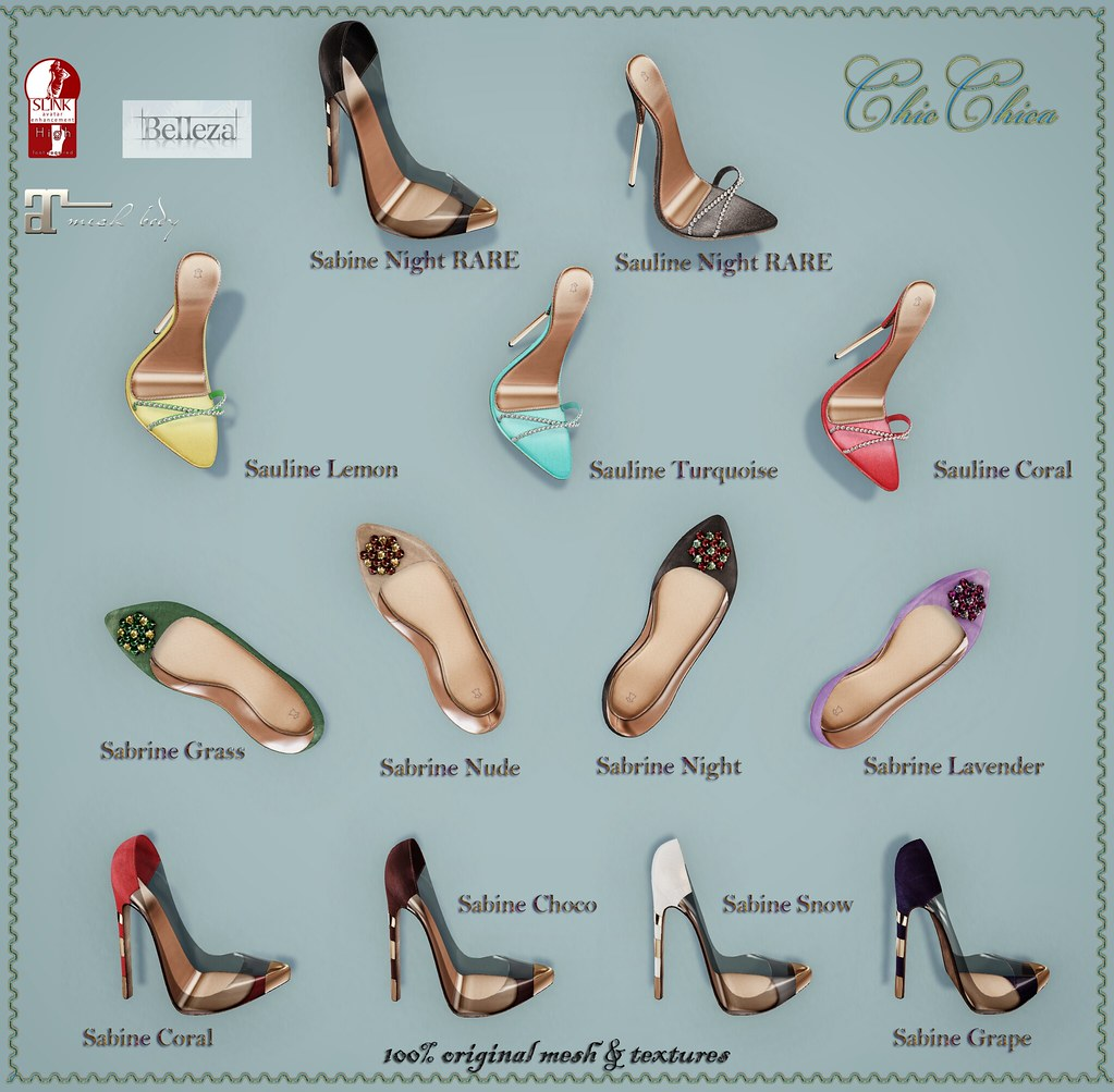 Shoe gacha by ChicChica OUT @ Whimsical