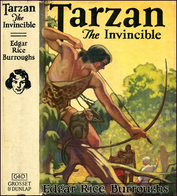 Tarzan - Book Cover