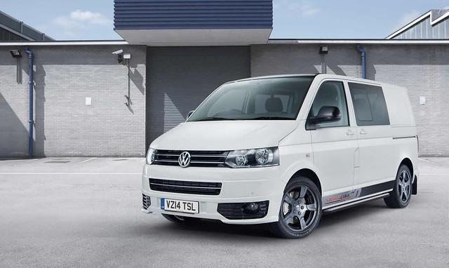 Volkswagen Transporter Sportline 60 special edition. 2014 год