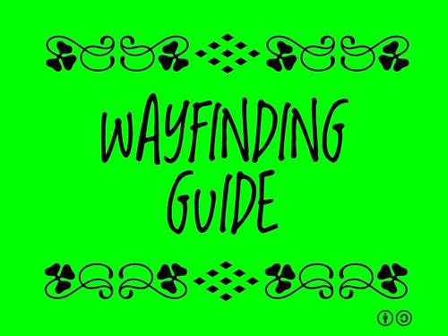 Buzzword Bingo: Wayfinding Guide