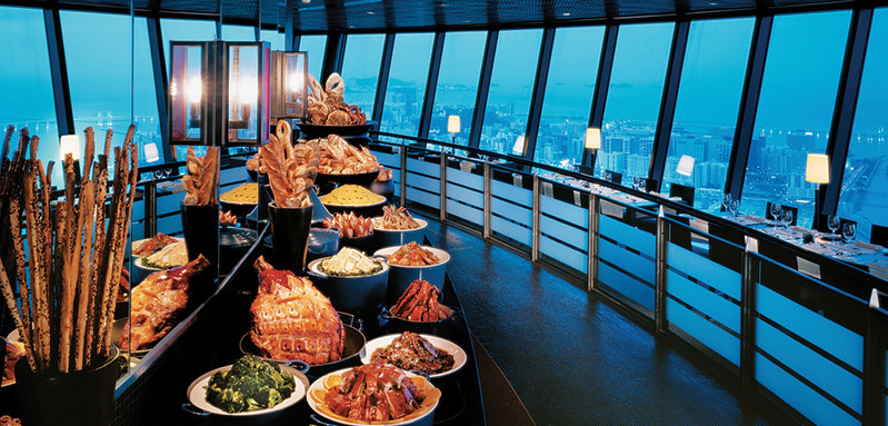Macao Tower 360 cafe