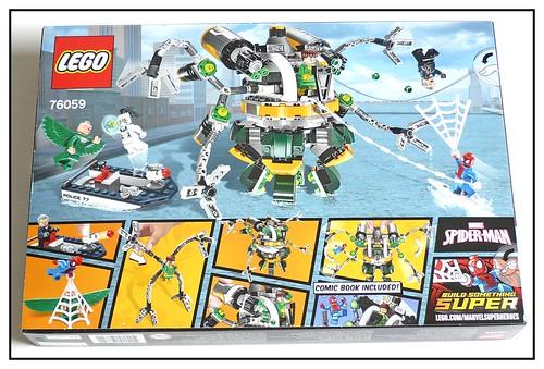 LEGO Marvel Super Heroes 76059 Spider-Man Doc Ock's Tentacle Trap 02